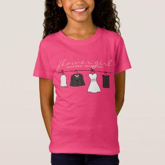 Wedding Clothes (Bride & Groom) Flower Girl * Pink T-Shirt