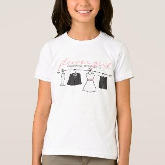 Wedding Clothes (Bride & Groom) Flower Girl T-Shirt