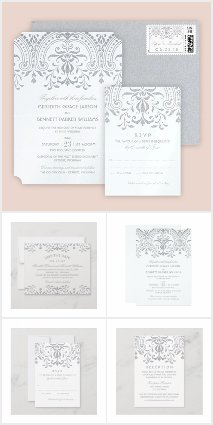 Wedding Collection | Vintage Glam in Silver