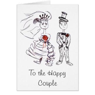 Wedding Congrats/Bride & Groom Card