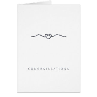 Wedding Congratulations Love | Sweet and Simple Greeting Card