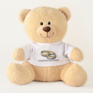 Wedding Congratulations Teddy Bear