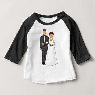 Wedding Couple Baby T-Shirt