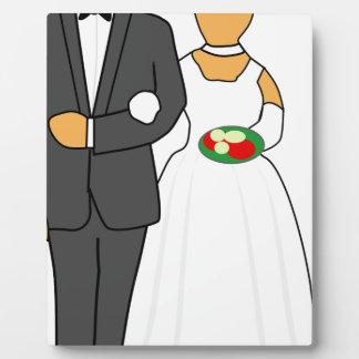 Wedding Couple Plaque