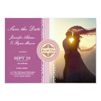 Wedding Couple Sunset Romance/pink theme Card