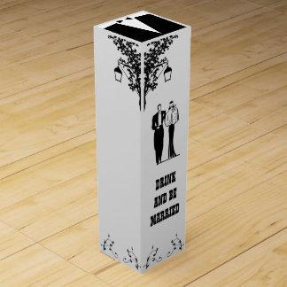 Wedding Couple Wine Box
