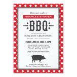 "Wedding Couple's Shower | Backyard BBQ Theme 5"" X 7"" Invitation Card"