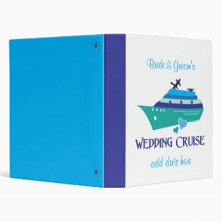 Wedding Cruise Vinyl Binder