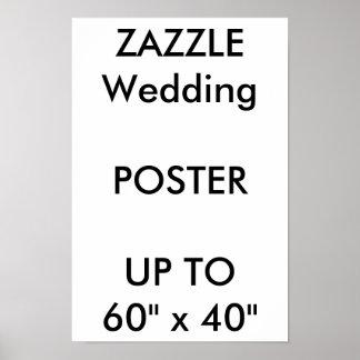 "Wedding Custom 11"" x 16.5"" Poster THICK Portrait"