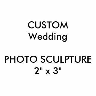 "Wedding Custom Photo Sculpture 2"" x 3"""