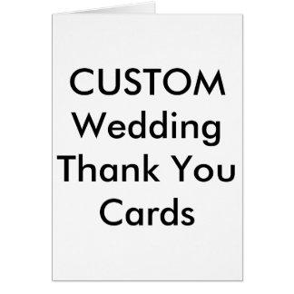 """Wedding Custom Thank You Cards 5"""" x 7"""""""