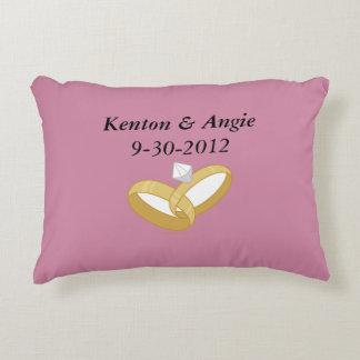 Wedding Date Cushion