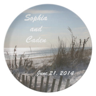 Wedding Date Keepsake Plate