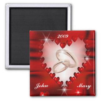 Wedding Date Magnet