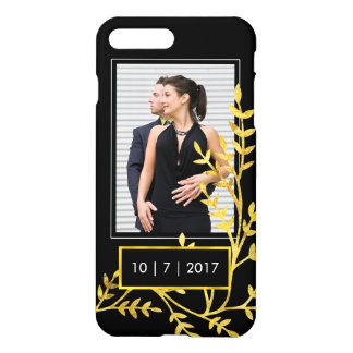 Wedding Date Save the Date Engagement Photo iPhone 7 Plus Case