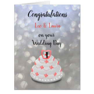 Wedding Day design Card