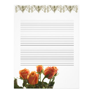 Wedding Day Guestbook (filler papers) Letterhead