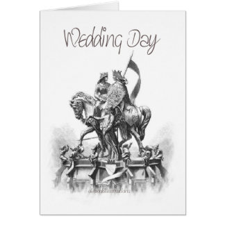 Wedding Day-Renaissance-Sketch Card