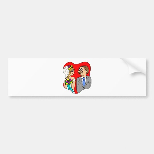 Wedding Decorations 1 Bumper Stickers