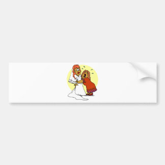 Wedding Decorations 2 Bumper Sticker