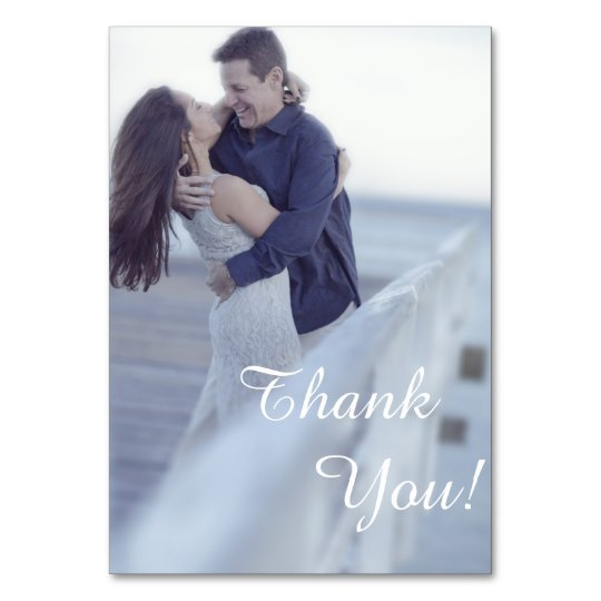 Wedding design card Thank you