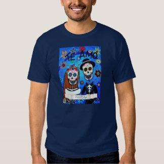 Wedding Dia de los Muertos T Shirt