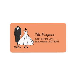 Wedding Doodles Label