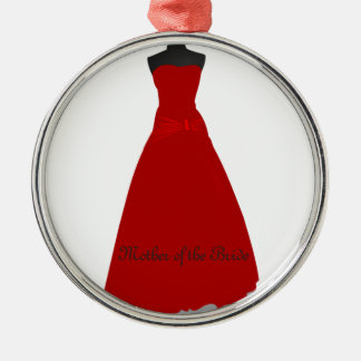 Wedding Dress Mother of the Bride Ornament