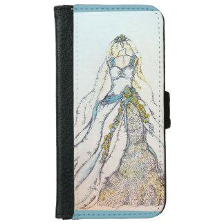 Wedding Dress Wallet Case