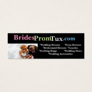 Wedding Dress Website Business Card