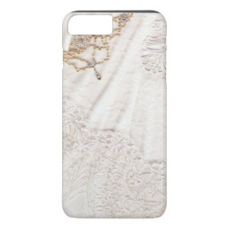 Wedding Dress With Gold And Silver Stitching iPhone 7 Plus Case