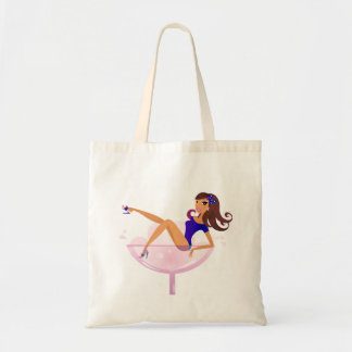 WEDDING edition with Martini girl Tote Bag