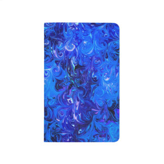 Wedding elegant blue vintage chic pattern journal
