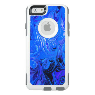 Wedding elegant blue vintage chic pattern OtterBox iPhone 6/6s case