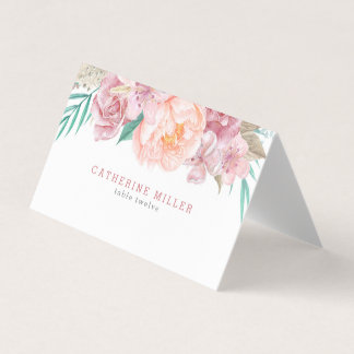 Wedding Escort Cards | Blush and Blooms