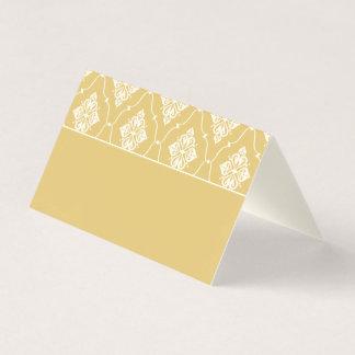 Wedding Escort Place Card | Gold Art Deco