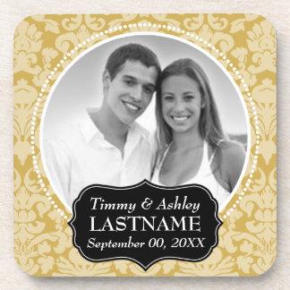 Wedding Favor - Anniversary Keepsake Coaster