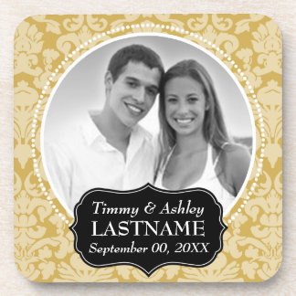 Wedding Favor - Anniversary Keepsake Drink Coaster