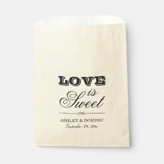 Wedding Favor Bags | Love is Sweet