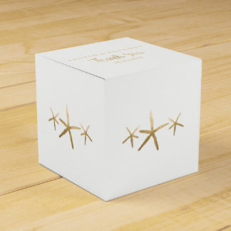 Wedding Favor Box, Customize, Beach Starfish Favor Box