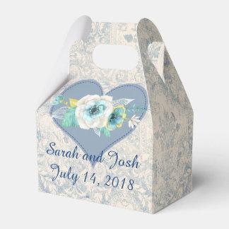 Wedding Favor in Blue Favor Box