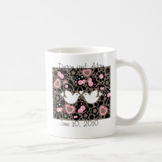 Wedding Favor Love Birds Mug