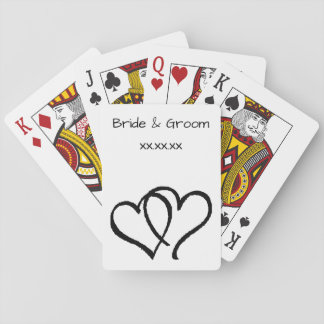 Wedding Favor Playing Cards