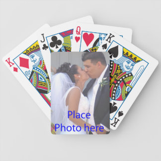 WEDDING FAVOR PLAYING CARDS TEMPLATE