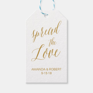 Wedding Favor Tag | Spread the Love