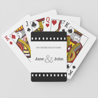 Wedding Favor With A Movie Film Theme Poker Deck