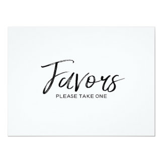 "Wedding ""Favors"" Sign 