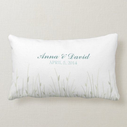 Wedding Fingerprint Flowers - Pillow