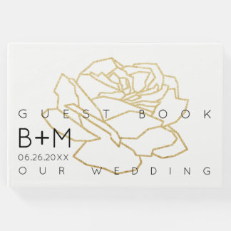 wedding floral, a guest book for a memorable event