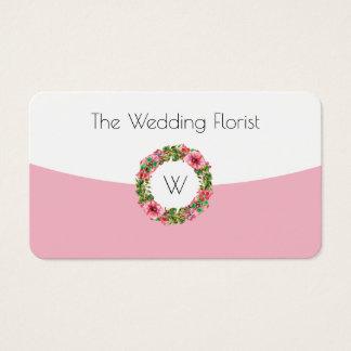 Wedding Florist Business Card